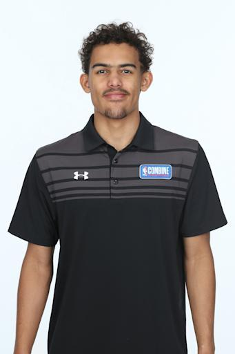 CHICAGO, IL - MAY 19: Trae Young poses for a head shot at the Body Image station for the Medical Evaluation portion of the 2018 NBA Combine powered by Under Armour on May 19, 2018 at Northwestern Memorial Hospital in Chicago, Illinois. (Photo by Gary Dineen/NBAE via Getty Images)