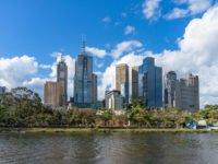 Australian property price falls are accelerating as the country hurtles towards a 'fiscal cliff'