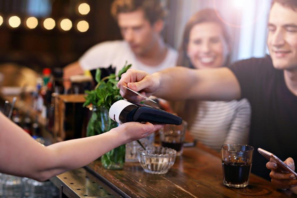 """<span class=""""caption"""">Tipping, a popular cultural practice in Canada, can have hidden consequences for food service workers.</span> <span class=""""attribution""""><span class=""""source"""">(Shutterstock)</span></span>"""