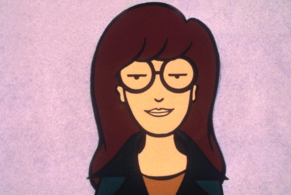 <p>Got 10 minutes to put together a costume? Fluff your hair up, grab a pair of glasses, and channel lots of sarcastic to go as Daria. She wouldn't want it any other way.</p>