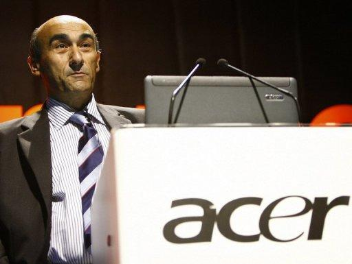Acer's former chief executive, Gianfranco Lanci, pictured in 2007