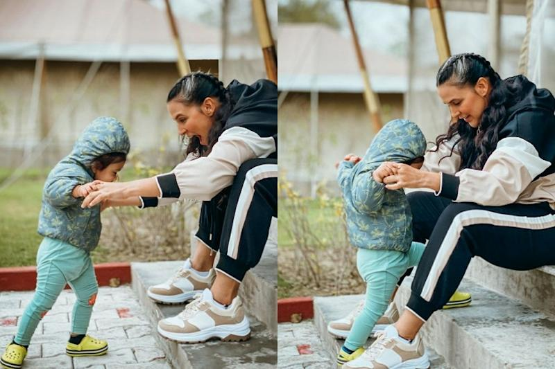 Neha Dhupia Shares Endearing Picture With Daughter Meher, Says 'What Really Matters'