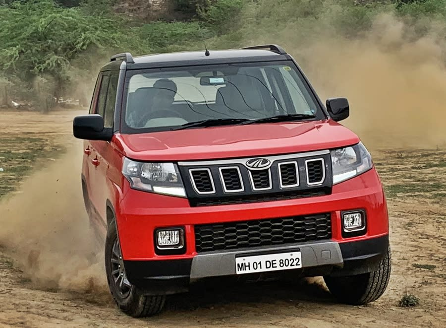<strong>Mahindra TUV300 (Rs 9.6 lakh to Rs 11.9 lakh)</strong> - Its rugged construction means that the TUV300 scores well and can wade through water quite efficiently for a compact SUV.