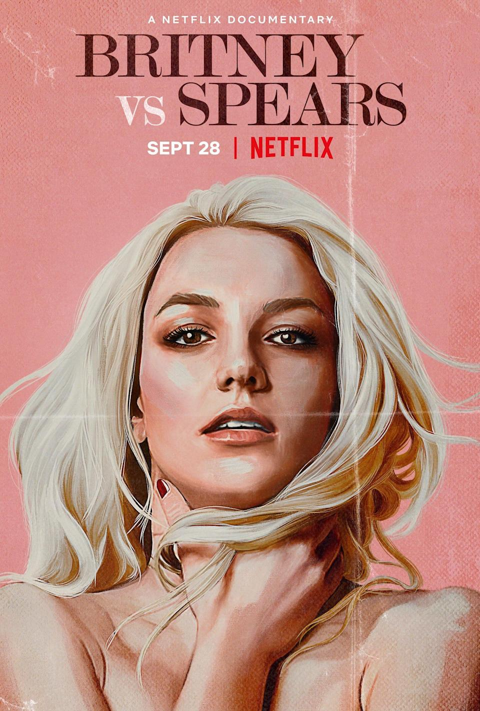 """Netflix's """"Britney vs. Spears"""" is expected to premiere Sept. 28."""