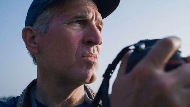 PHOTO: National Geographic photographer Brian Skerry spent three years documenting the cultural lives of whales.  (Andrew Mitchell/National Geographic for Disney+)