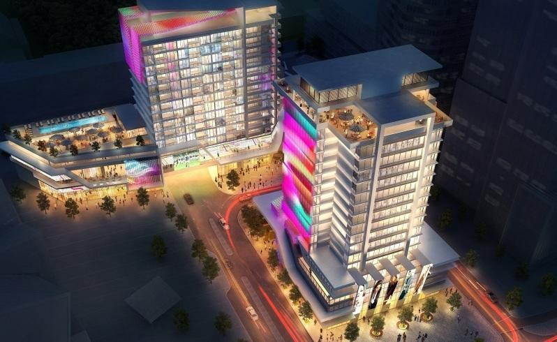 High hopes: The planned hotels. Illustration: Supplied