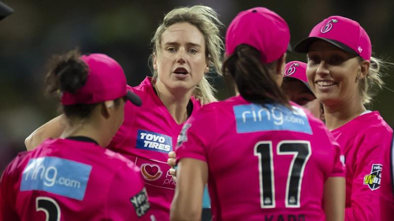 CRICKET WBBL SIXERS THUNDER