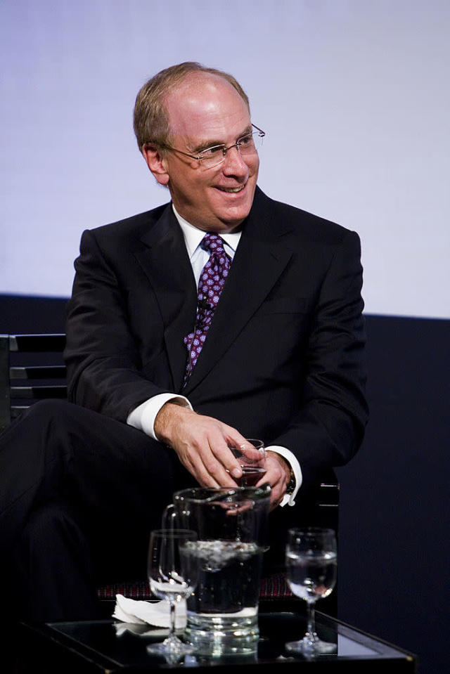 <p>No. 20: University of California, Los Angeles<br>Known UHNW alumni: 235<br>Combined wealth: $63 billion<br>Former grad CEO of BlackRock Larry Fink is seen here.<br>(Photo by Mat Szwajkos/Getty Images) </p>