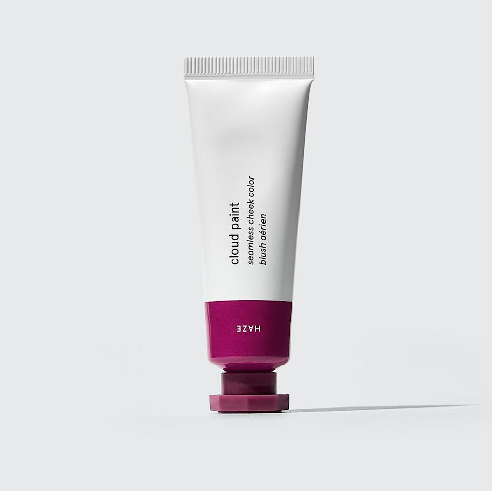 """<p>For brown skin, no matter how deep or light, Glossier's Cloud Paint in Haze is Sir John's top pick. """"Even though [these blushes] look bright, once you put them on your face, they just give you this subtle, lit from within, I-just-had-sex kind of glow,"""" he says. It's not too much — just beautifully flattering.</p> <p><strong>$18</strong> (<a href=""""https://www.glossier.com/products/cloud-paint"""">Shop Now</a>)</p>"""