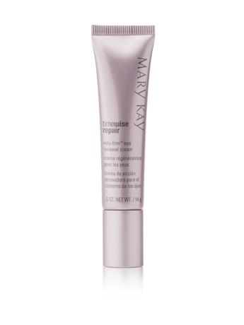 """<p><strong>Mary Kay </strong></p><p>marykay.com</p><p><strong>$42.00</strong></p><p><a href=""""https://www.marykay.com/en-us/products/all/timewise-repair-volufirm-eye-renewal-cream-100905"""" rel=""""nofollow noopener"""" target=""""_blank"""" data-ylk=""""slk:Shop Now"""" class=""""link rapid-noclick-resp"""">Shop Now</a></p><p>This Good Housekeeping Seal star from Mary Kay<strong> r</strong><strong>educes the appearance of lines and wrinkles, and moisturizes dry, crepey mature skin</strong> for up to 12 hours. The tube also has a smart design; squeeze out some product and gently use its metal applicator tip to smooth onto skin. The immediate cooling sensation helps depuff eyes.</p>"""
