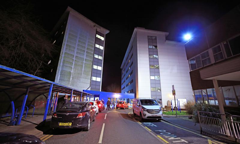 The accommodation at Arrowe Park Hospital in Merseyside which is understood to be where the British nationals from the coronavirus-hit city of Wuhan in China, will be quarantined after they arrive back into the UK on Friday. (Photo by Peter Byrne/PA Images via Getty Images)