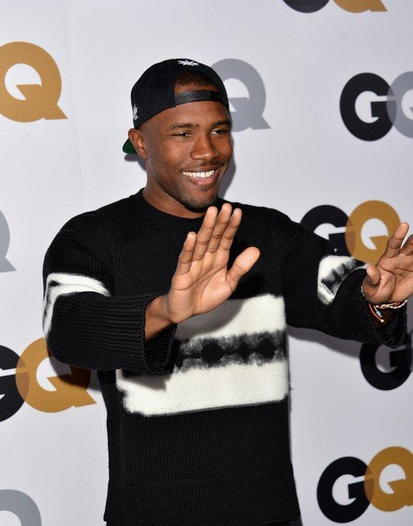 Frank Ocean arrives at the GQ Men of the Year Party on November 13, 2012 in Los Angeles. The rap artist scored six Grammy nominations, including for best album, record of the year, best new artist and best urban contemporary album
