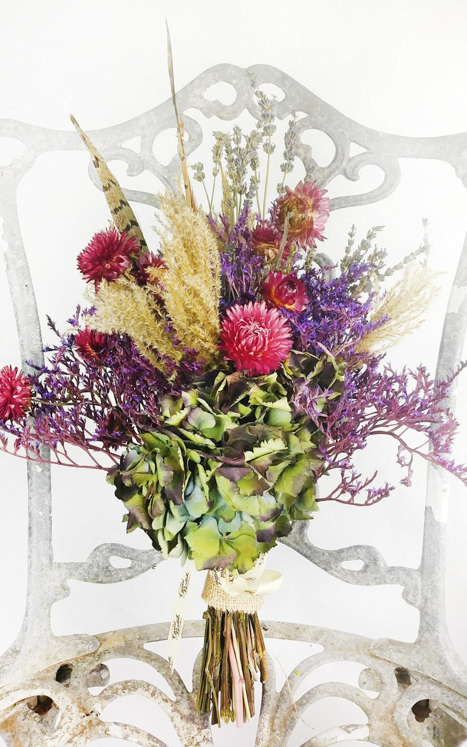 Wild Thing flowers from Great British Florist, £45