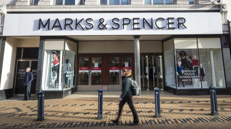 Marks & Spencer profits to slide as food sales fall