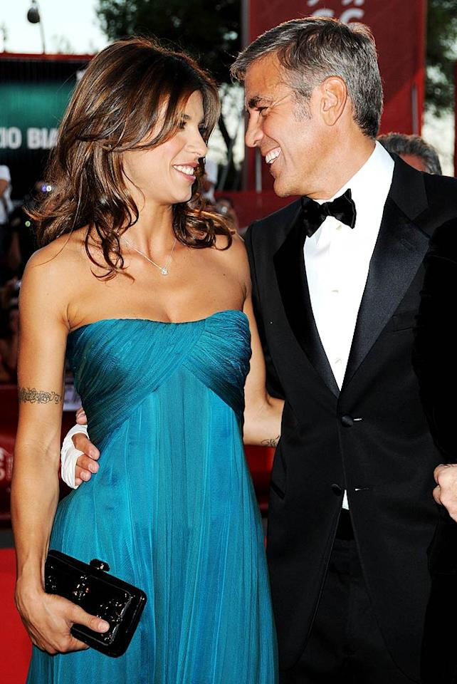 "Hmm, do you think George Clooney's current lady love, Italian model and actress Elisabetta Canalis, will finally take the two-time ""Sexiest Man Alive"" off the market? Pascal Le Segretain/<a href=""http://www.wireimage.com"" target=""new"">WireImage.com</a> - September 8, 2009"