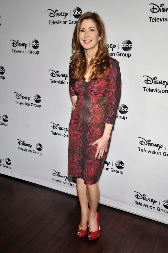 "Dana Delany (""Body of Proof"") attends the Disney ABC Television Group 2013 TCA Winter Press Tour at The Langham Huntington Hotel and Spa on January 10, 2013 in Pasadena, California."