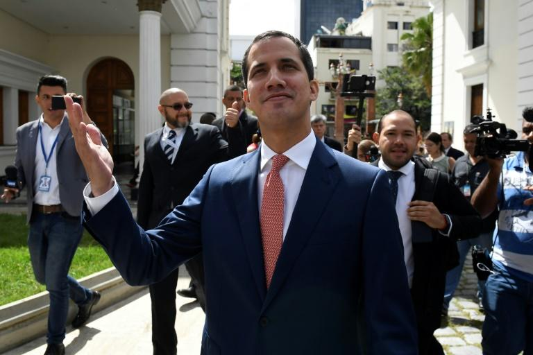 Venezuela's opposition leader Juan Guaido is confident the government will return to the negotiating table to seek a solution to the country's political crisis
