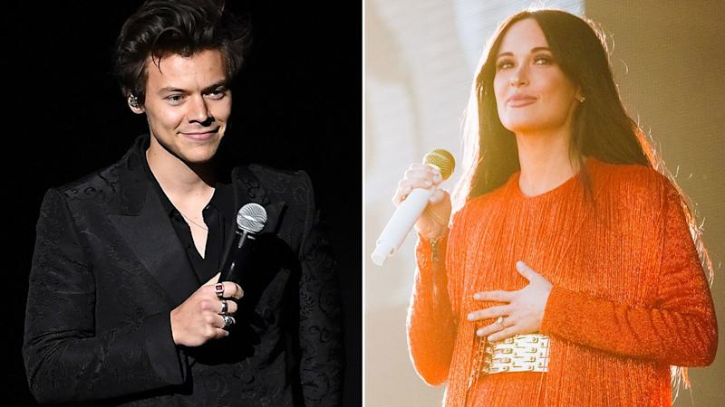 "Kacey Musgraves Brought Harry Styles Onstage to Perform ""Space Cowboy"""
