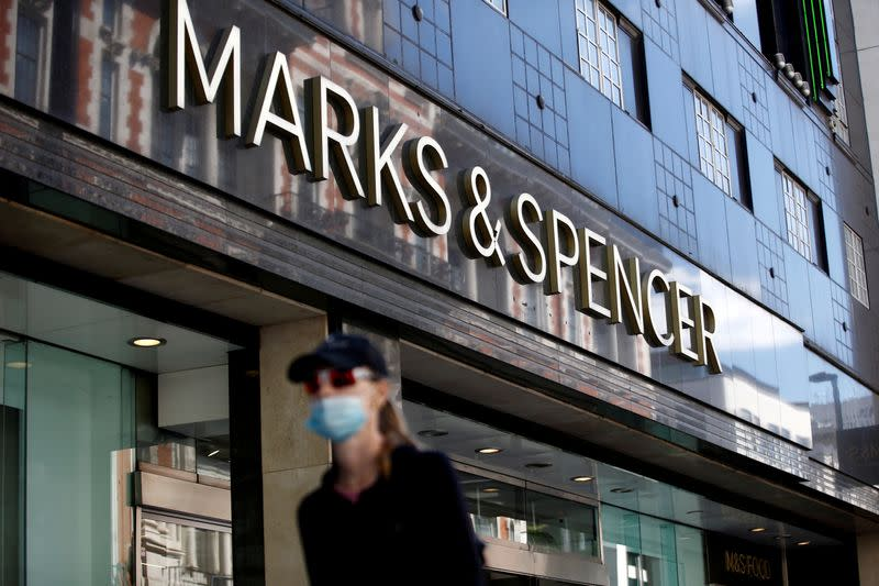 M&S tries to tap into food delivery boom to halt decline