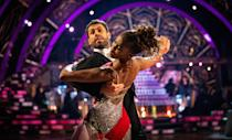 The 17th series of Strictly featured former England footballer Alex Scott, BBC Breakfast sports presenter Mike Bushell and TV personality Anneka Rice, and dancer Anton du Beke is still in contention to win his first Glitterball trophy (Picture: PA)