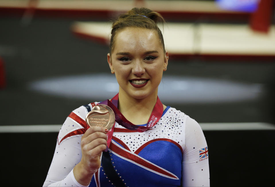 Amy Tinkler is enjoying her time on Dancing on Ice after a tough few years  Photo Credit: Action Images via Reuters/Matthew Childs