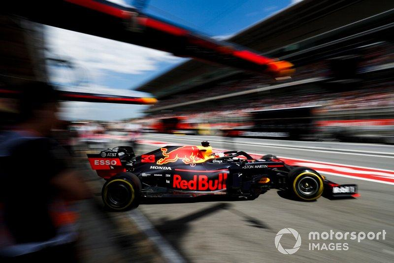 "Max Verstappen, Red Bull Racing RB15<span class=""copyright"">Zak Mauger / Motorsport Images</span>"