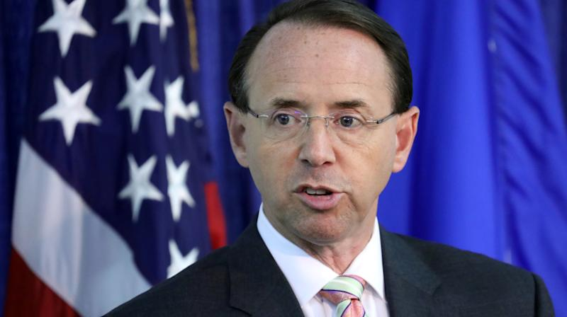 Rod Rosenstein Offers 'Forceful Defense' Of 'Appropriate' Russia Probe: WSJ