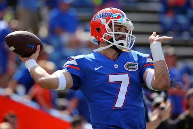 Will Grier sat out the 2016 season after a suspension. (Getty)