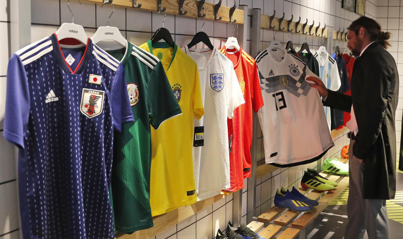 d697196116a Nigeria's bright, trippy uniforms a hit among World Cup unis