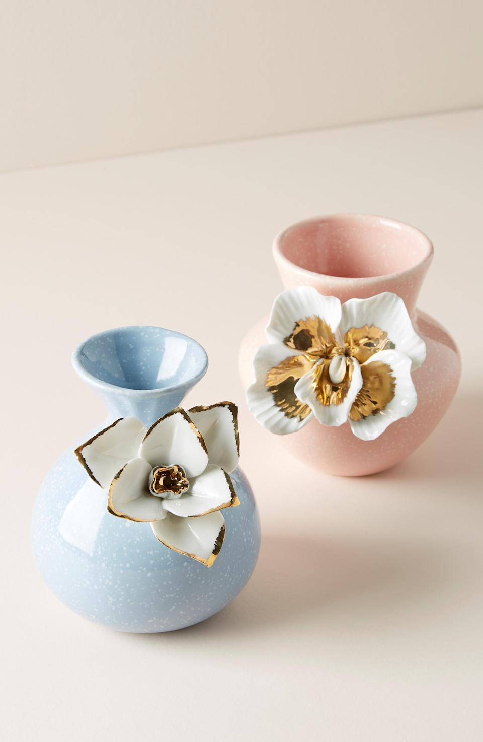 "<p><strong>Anthropologie</strong></p><p>nordstrom.com</p><p><strong>$28.00</strong></p><p><a href=""https://shop.nordstrom.com/s/anthropologie-bloom-vase/5100766"" rel=""nofollow noopener"" target=""_blank"" data-ylk=""slk:SHOP NOW"" class=""link rapid-noclick-resp"">SHOP NOW</a></p><p>Now she'll have the most beautiful place to hold her <a href=""https://www.womansday.com/relationships/dating-marriage/g744/flower-meanings/"" rel=""nofollow noopener"" target=""_blank"" data-ylk=""slk:Valentine's Day flowers"" class=""link rapid-noclick-resp"">Valentine's Day flowers</a> this year.</p>"