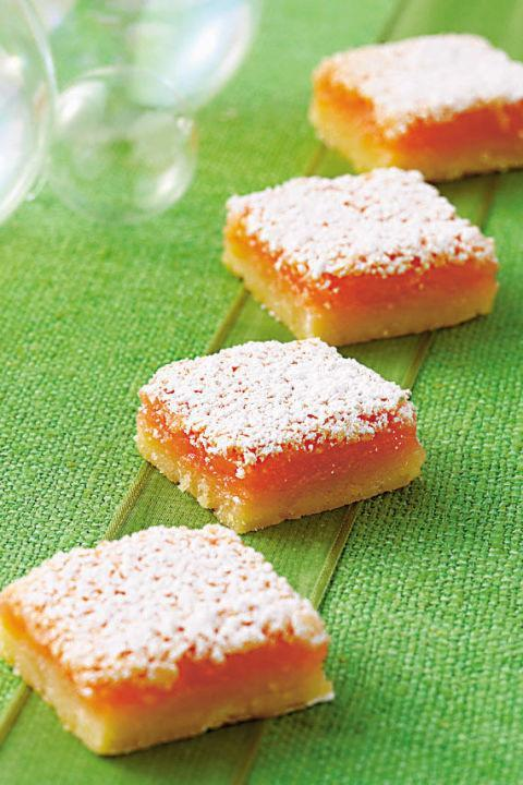 """<p>Pair these with your favorite iced drink for a refreshing snack on a hot summer day.</p><p><a href=""""http://www.countryliving.com/food-drinks/recipes/a31669/pink-lemonade-bars-121785/"""" rel=""""nofollow noopener"""" target=""""_blank"""" data-ylk=""""slk:Get the recipe."""" class=""""link rapid-noclick-resp""""><strong>Get the recipe.</strong></a></p>"""