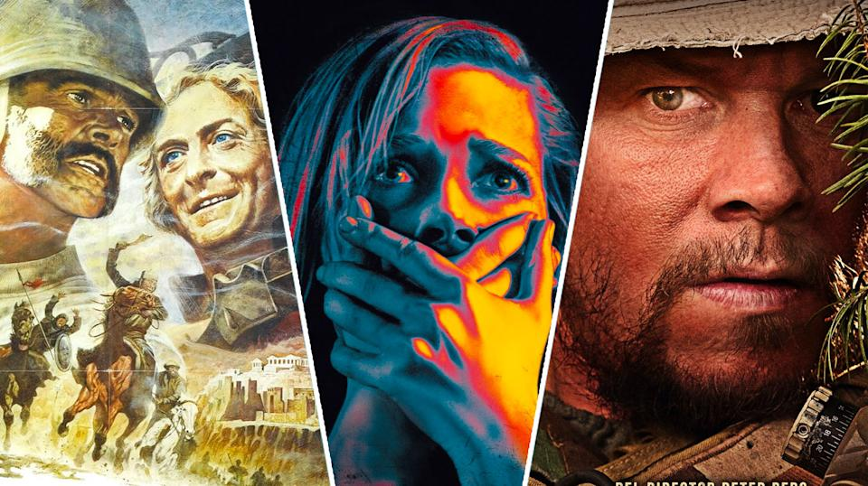 The Man Who Would Be King, Don't Breathe, Lone Survivor.
