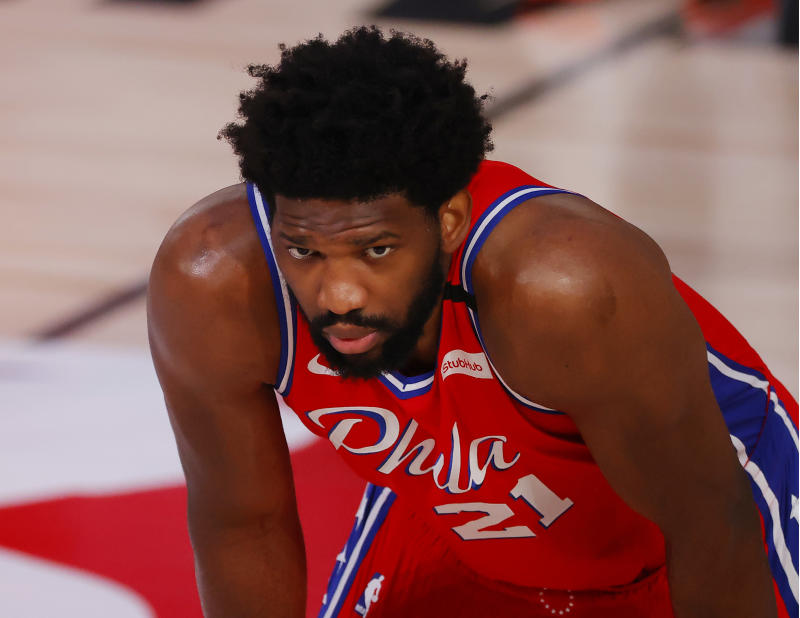 Joel Embiid holds the weight of the 76ers' fate