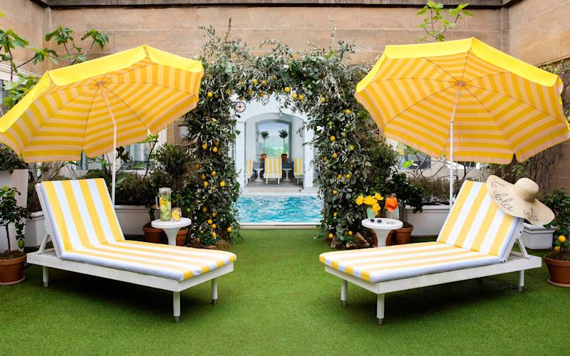 An Amalfi Coast-themed pop-up has come to the rooftop of The Berkeley Hotel in Knightsbridge