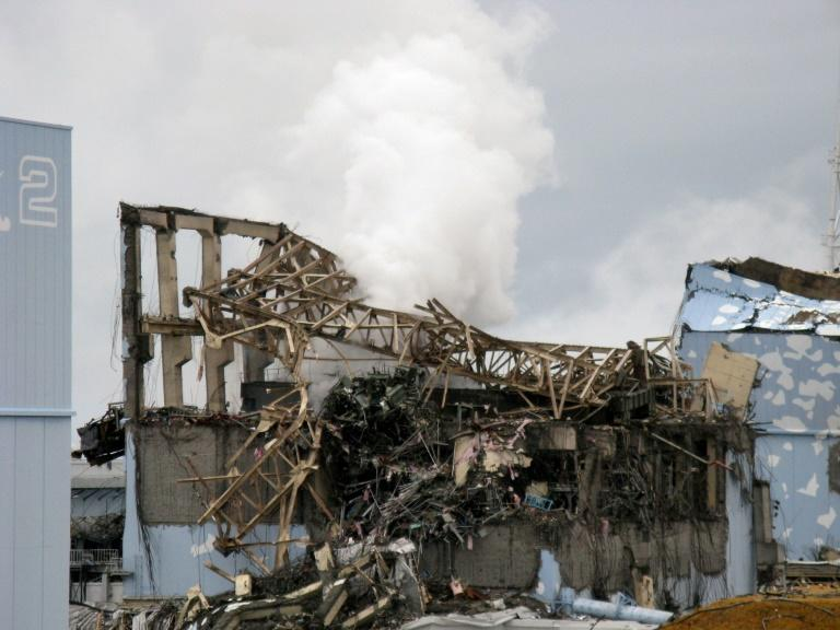 The unit 3 reactor building at Fukushima after the 2011 disaster
