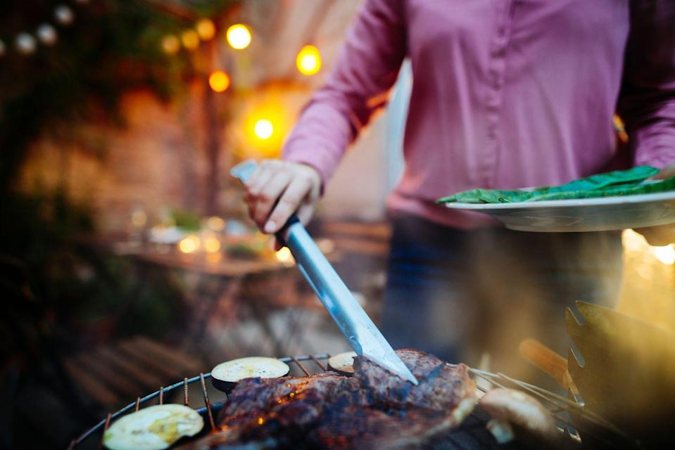 """<p>The reverse sear method means cooking your meat slowly over low heat to start, then searing the meat over a high temperature. Vetter tells Woman's Day that """"using reverse sear method ensures juicy chicken and crisp skin every time."""" </p>"""