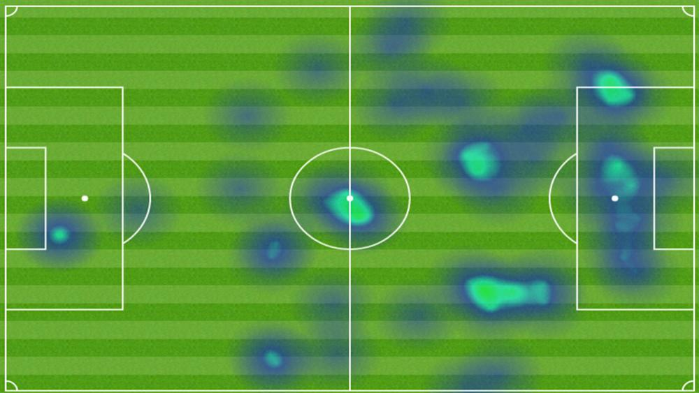 Heat Map Volta Real Madrid Bayern de Munique Uefa Champions League Cristiano Ronaldo