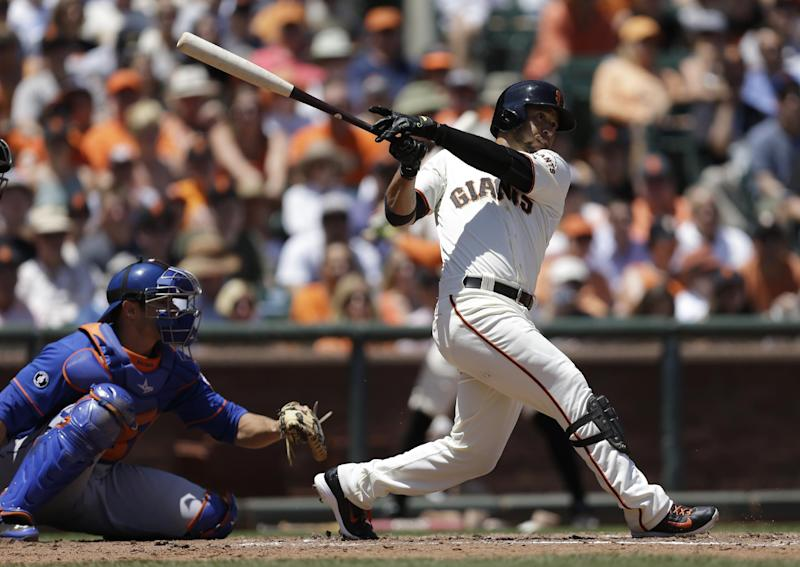 Giants beat Mets 6-4 for 5th straight win