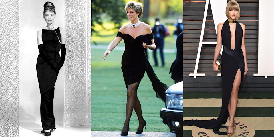 <p>The little black dress may have been introduced by Coco Chanel, but it was Audrey Hepburn who made the garment famous in the film <em>Breakfast at Tiffany's</em>. From Hepburn's Givenchy sheath to Queen Bey's embellished mini, the LBD has become the uniform of choice for some of the most iconic women in history. Here, we've chronicled the closet staple from the 1920s to now, proving its timeless appeal.</p>