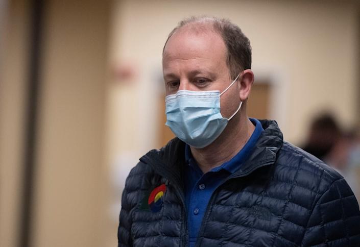 Colorado Gov. Jared Polis says the prevalence of a variant on the coronavirus is unknown.