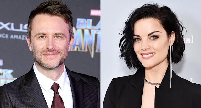 Chris Hardwick and Jaimie Alexander (Photo: Getty Images)