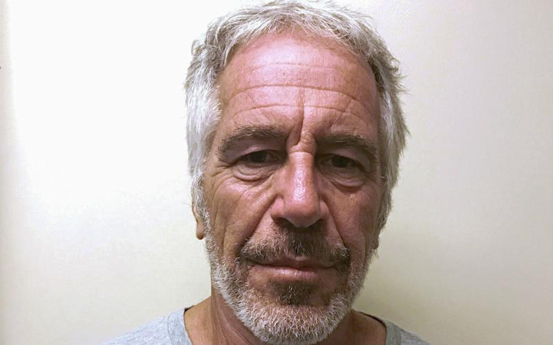 Jeffrey Epstein, shown here in a 2017 photograph taken for the New York State Division of Criminal Justice Services sex offender registry - REUTERS