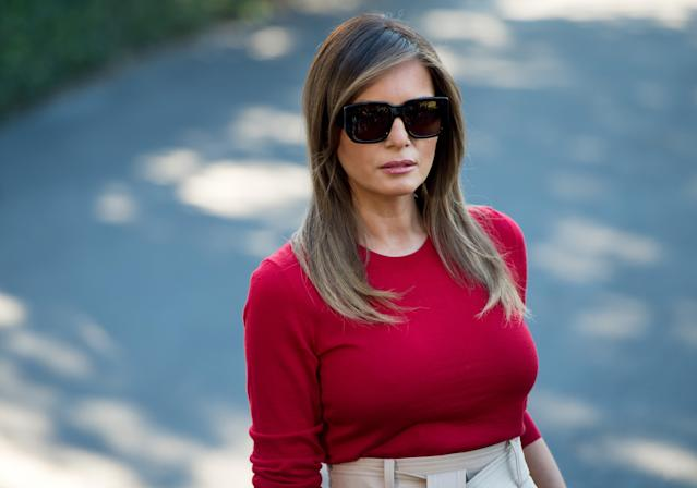 A tweet by Melania Trump about the rescue of the Thai soccer team has come under fire. (Photo: SAUL LOEB/AFP/Getty Images)