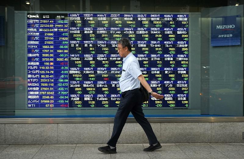 The Nikkei 225 index closed down 3.89 percent on Thursday after a US stock market rout spilled over into Asia