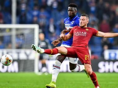 Serie A: AS Roma issues apology for racist abuse against Sampdoria midfielder Ronaldo Vieira
