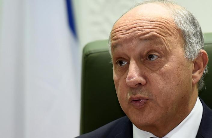 French Foreign Minister Laurent Fabius speaks during a press conference on January 19, 2016 in Riyadh (AFP Photo/Fayez Nureldine)