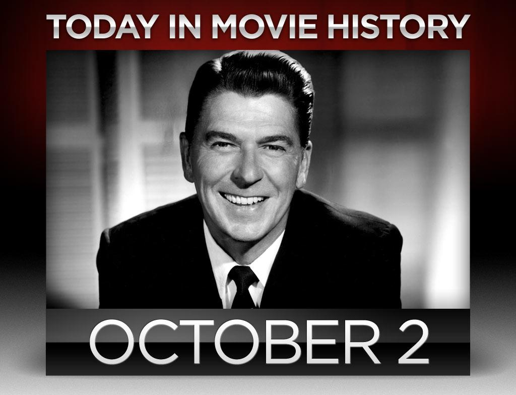 """<b>1937</b> – <a href=""""http://movies.yahoo.com/person/ronald-reagan/"""">Ronald Reagan</a> made his big screen debut when """"Love is in the Air"""" opened wide on this day. """"Dutch"""" Reagan was a real life sportscaster for the Chicago Cubs before landing the role of radio announcer Andy McCaine (though Warner Bros. made sure Reagan dropped his nickname). Reagan would go on to appear in over 50 films before moving on to bigger roles on the political stage. <br><br>"""
