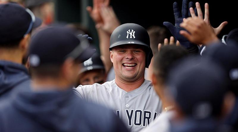 the best attitude de0d3 19eba The Yankees Can Thank Luke Voit for Their Surprising Surge