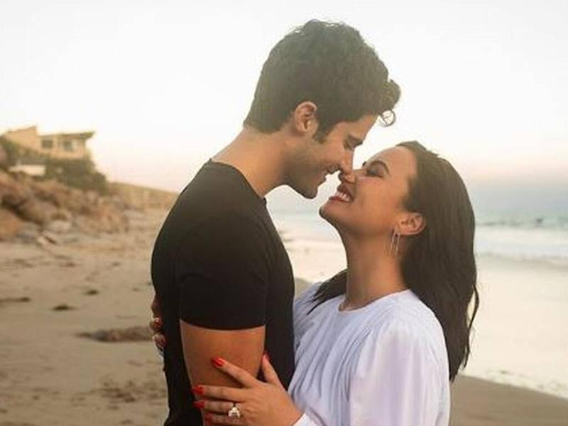 Demi Lovato engaged to actor Max Ehrich