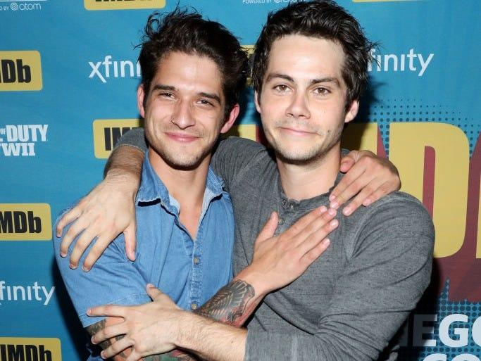 STyler Posey and Dylan O'Brien in 2017.